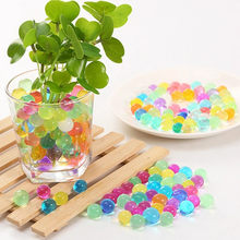 1000pcs Crystal Soil Pearl Gel Ball Polymer Hydrogel Crystal Mud Bead Growth Magic Jelly Wedding Home Party Decoration