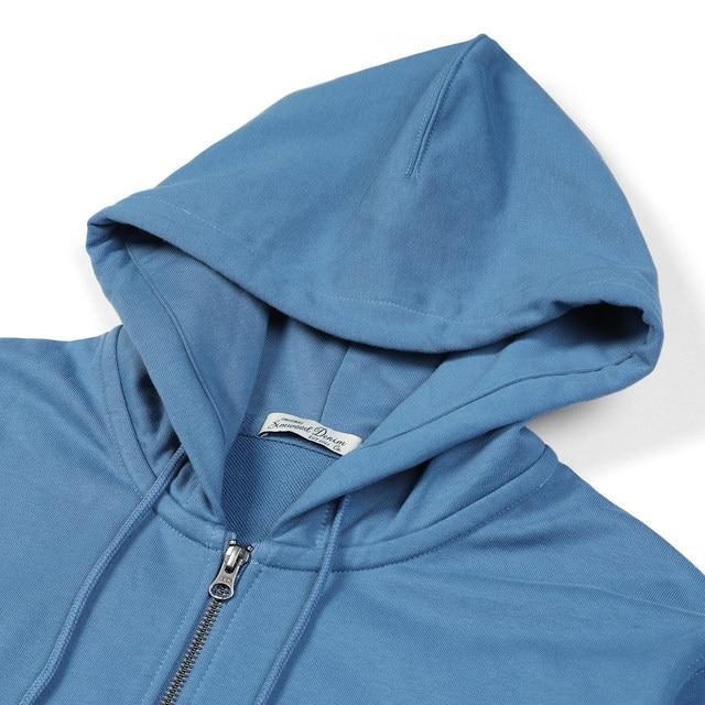 Active wear Hoodies with Zip-Up