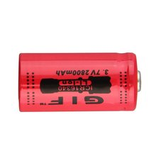 Высокая емкость 3.7 V 2800 мАч 16340 аккумуляторная батарея большой емкости перезаряжаемые литий-ионный аккумулятор для светодиодный фонарик Факел