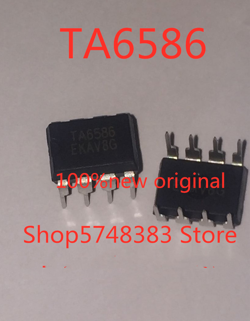 1PCS/LOT New Original TA6586 6586 DIP-8