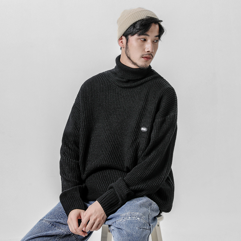 Men's Sweater 2019 Autumn And Winter New Long Paragraph Casual Warm Old Age Sweater Youth Personality Trend Men's Clothing