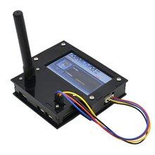 Одиночное реле 3,2 дюйма полный акриловый чехол Черный Многофункциональный дисплей прочный HS Hat точка доступа с Raspberry Pi Zero W