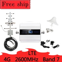 12dbi antenne 2600mhz cellulaire signaal booster mobiele netwerk booster gsm Cellulaire Telefoon LTE 4G 2600 MHZ Repeater Versterker