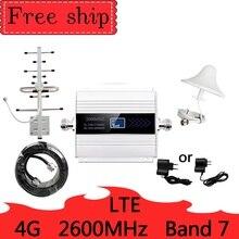 Antena 12dbi de 2600 mhz, amplificador de red móvil, Amplificador de señal móvil, gsm, teléfono celular LTE, 4G, 2600 MHZ