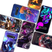 League of legends LOL Akali Black Case For Samsung Galaxy A51 A71 A50S A10 A20E A30 A40 A50 A70 M30S A41 A11 A01 A21 Phone Cover(China)