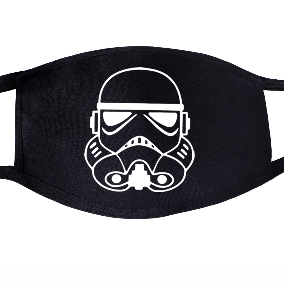 Star Wars Join The Empire Face Mask Mouth 2020 Darth Vader Selfie Stormtrooper 1pcs Dustproof Unisex Anti Dust Protective Masks