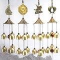 Ветряные колокольчики двор античный удивительный сад медные колокольчики ветряные колокольчики подвесные украшения для детской комнаты у...