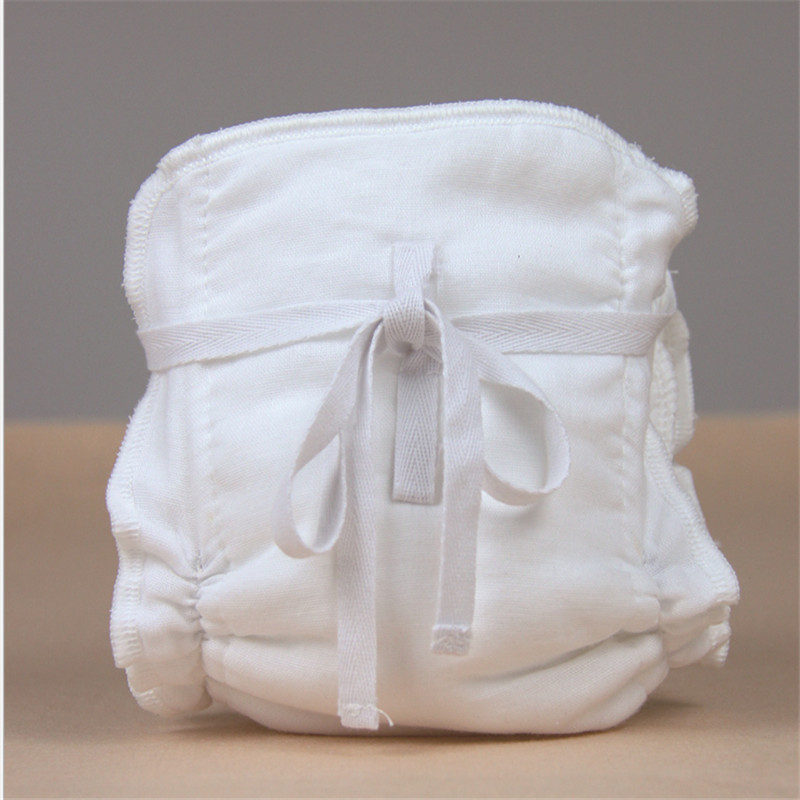 1PC 5 Layers Reusable Washable Waterproof Organic Bamboo Cotton Wrap Insert Hot Inserts Boosters Liners For Baby Diaper Cover