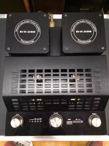 Image 3 - M12 HI FI Bluetooth ואקום צינור סטריאו מגבר תמיכה USB אודיו מגבר כוח בס hifi פלט 2 תמיכה 220V או 110V