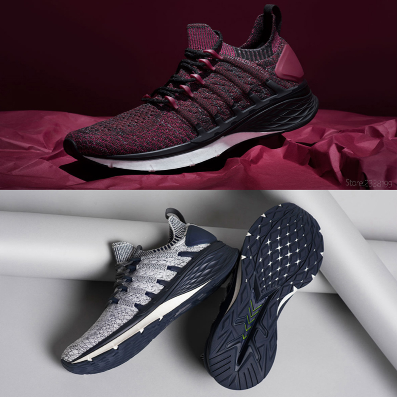100% Original Xiao mi mi jia chaussures 3 baskets 3th hommes course Sport plein air nouveau Uni-moulage 2.0 confortable et antidérapant Stock - 6