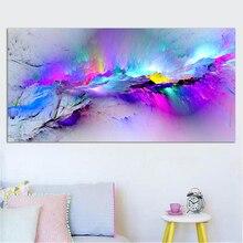 Abstract Colorful Cloud Painting Art Scandinavian posters Prints Sofa Living room Decoration Giclee Prints Wall Prints Art prints