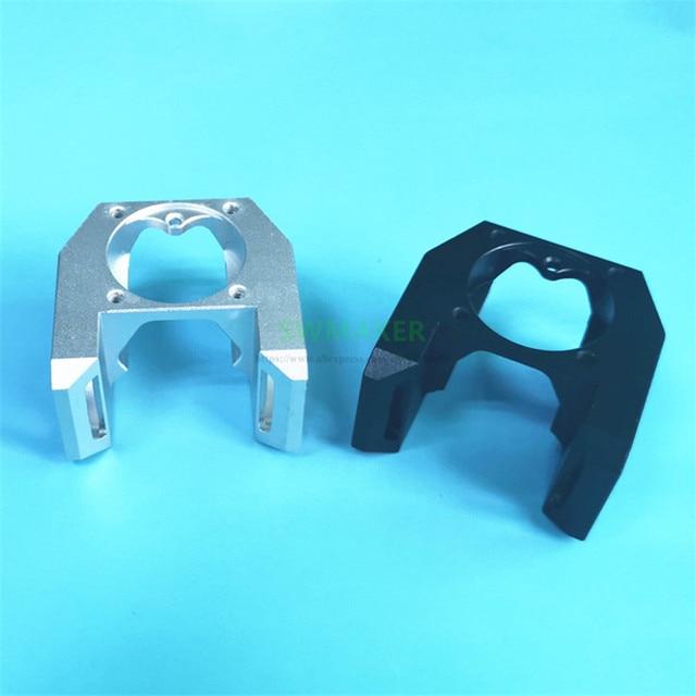 Neue 3D Drucker Teile E3D V6 Alle Metall Fan Kanal super cool Können Montieren 3 stücke 3010 Kühlung Fans, v6S Hexagon form innere