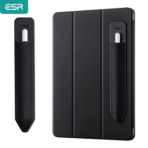 ESR Case for Apple Pencil Stick Holder for iPad Pencil PU Bandage Cover Tablet Touch Pen 360 Full Protective Pouch Bags Holder(China)