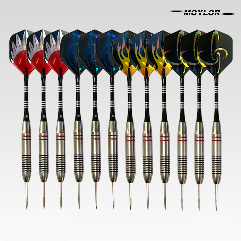Moylor 9Color 9pcs/lot Professional Hard <font><b>Darts</b></font> 25g <font><b>Tungsten</b></font> Steel Tips <font><b>Darts</b></font> Special Hard Tip Needle <font><b>Darts</b></font> for <font><b>Dart</b></font> Board E image