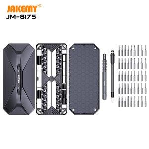 Image 4 - Jakemy 1 精密ドライバーセットで 50 トルクスビット磁気スクリュードライバーiphoneスマートフォン電子修復ツール