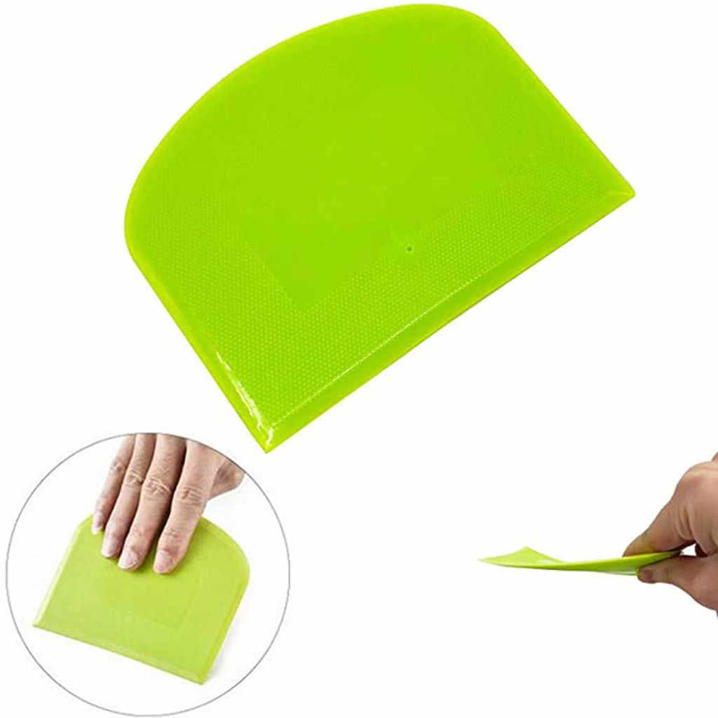 40 @ 2Pc Plastic Cake Spatel Deeg Boter Batter Schraper Bakken Tools Bakken Nough Snijden Gereedschap Keuken Gadgets