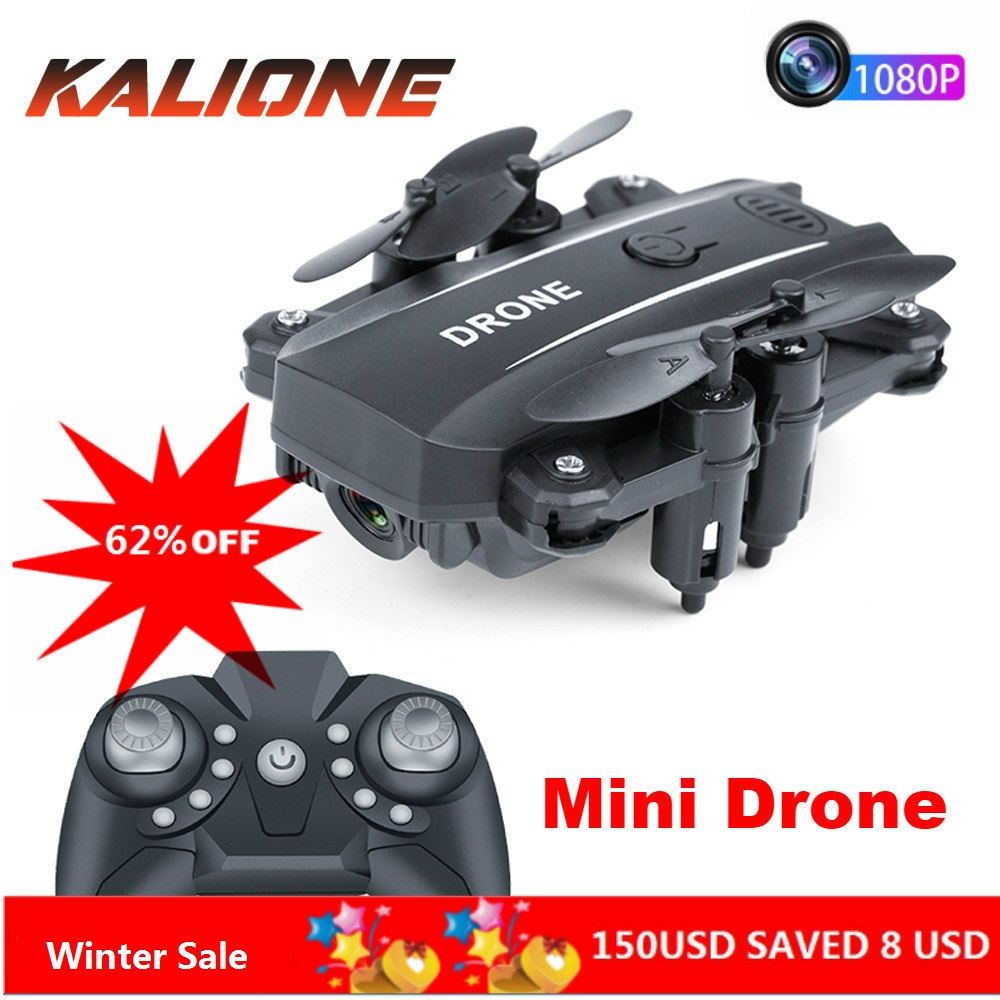 RC Quadcopter Mini drone with came 1080P Wifi FPV Dron Foldable Altitude Hold RC Quadrocopter pocket Selfie Drones Professional