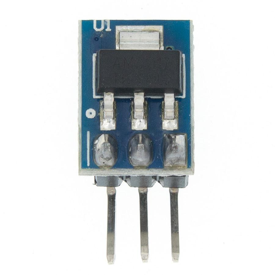 10PCS//LOT DC 5V to 3.3V Step-Down Power Supply Module AMS1117-3.3 LDO 800MA