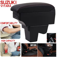 For Suzuki Vitara Armrest Box Universal Car Central Armrest Storage Box cup holder ashtray modification accessories commercial car hight quality car armrest box storage for nv200 armrest box nv200