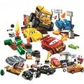 Гоночный фильм Юниоры автомобили гром автомобиль полые сумасшедшие строительные блоки кирпичи игрушки для детей Совместимые модели