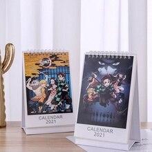 Desk-Calendar Daily-Schedule-Planner Slayer Anime Kimetsu Demon Cartoon-Figure Kamado