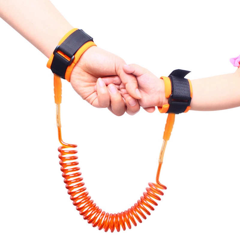 Adjustable Anti Lost Wrist Link Baby Care Toddler Kids Safety Harness Leash Wristband Ropes Belt Line Toddler Infants Toys