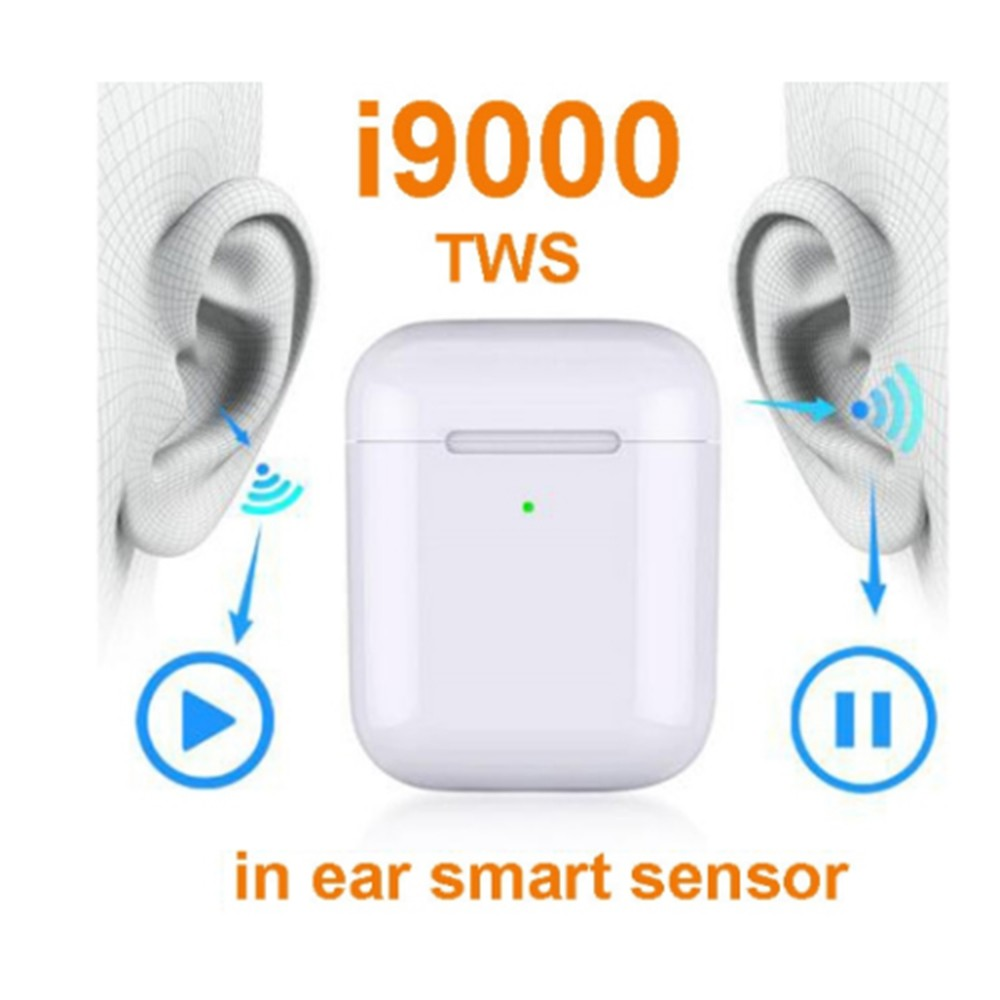 i9000 <font><b>TWS</b></font> <font><b>Smart</b></font> <font><b>Sensor</b></font> Wireless Earphone Bluetooth Headphone in ear Headset Earbuds i9000 PK I90000 i100000 <font><b>tws</b></font> pro max original image