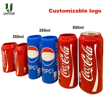UNTIOR 350/500ML Silicone Beer Can Covers Sleeve Hide A Beer Hide Your Beverage Thermal Bag Camping Travel Hiking Accessory hide
