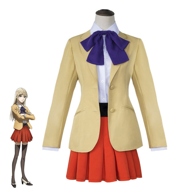 Classic  Game Anime Role Playing Bodo Porpoise Pull Dough Cosplay Lin Xianming Boss COS Clothing Womens Holiday Party Costumes