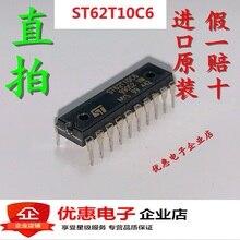 10PCS new original ST62T10C6 DIP20