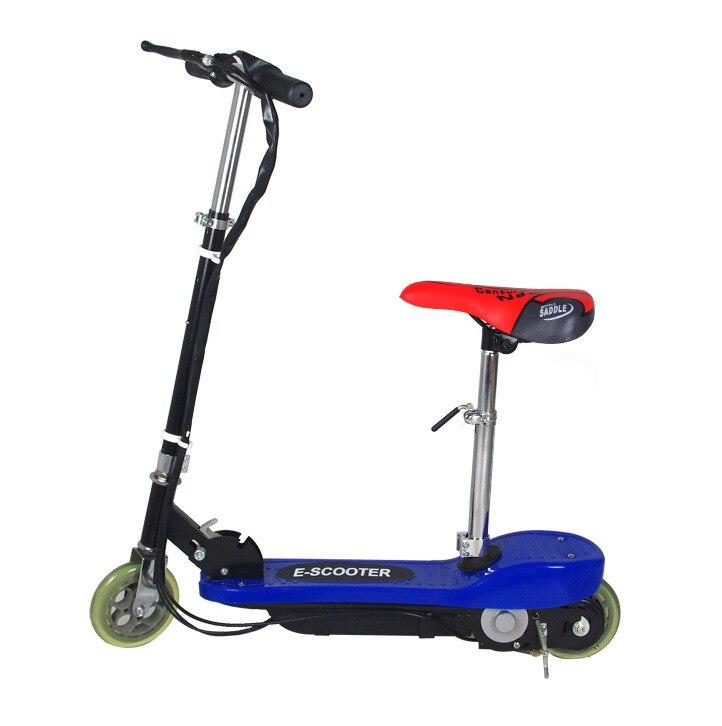 Портативный Электрический мини скутер, складной легкий мотор, велосипед с мощной аккумуляторной батареей, скутер далеко от вируса для взрослых|Электровелосипед|   | АлиЭкспресс