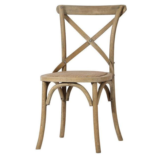 Cross Backed Chair 1