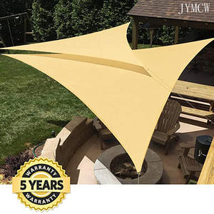 Outdoor Canopy Awning Shade Sail Sunshade-Protection SUN-SHELTER Garden-Patio-Pool Triangle