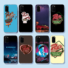 NBDRUICAI hot tv Riverdale Pops Chock'lit Shoppe TPU black Phone Case Cover Hull for Samsung S9 plus S5 S6 S7 edge S8 S10 plus(China)