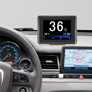Image 4 - NEXPEAK A203 OBD2 On board Computer Car Digital Computer Trip Display Speed Fuel Consumption Temperature Gauge OBD2 Scanner