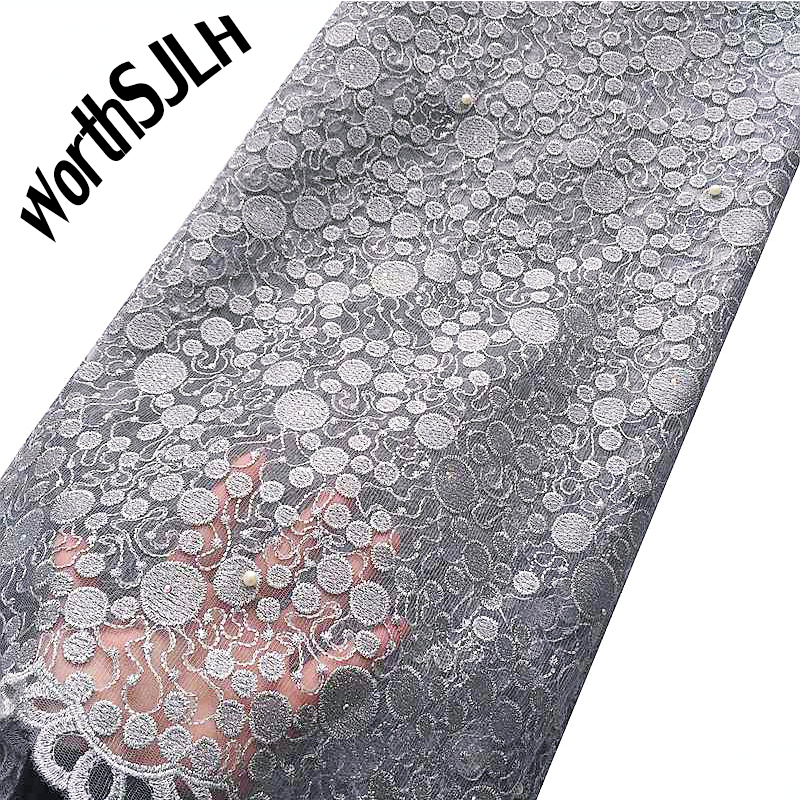 African Lace Fabric 2019