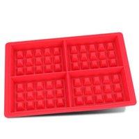 Molde para pasteles de silicona para niños  juego de moldes antiadherentes para hornear  juego de moldes antiadherentes de silicona para hornear  envío directo|Moldes de gofres| |  -