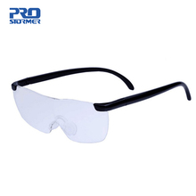 Magnifier Glasses Eyewear Reading PROSTORMER Parents Portable for 250-Degree Gift