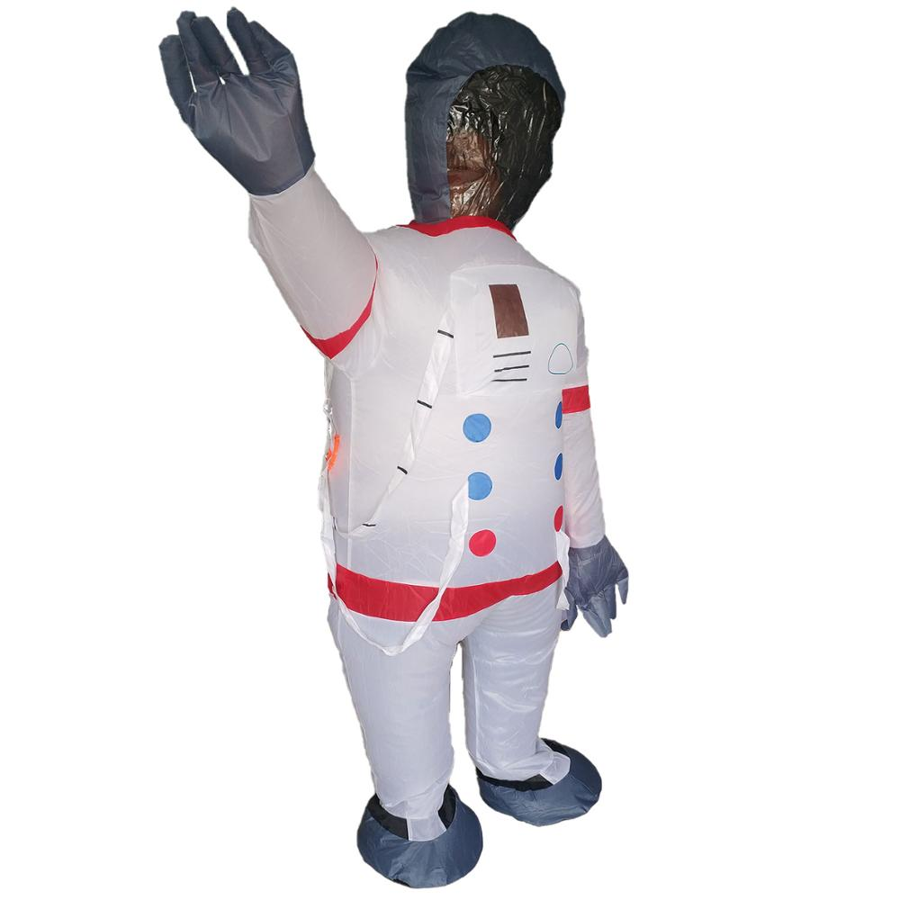 Adult Inflatable Pumpkin Suit Night Party Fancy Dress Halloween Costume Outfit