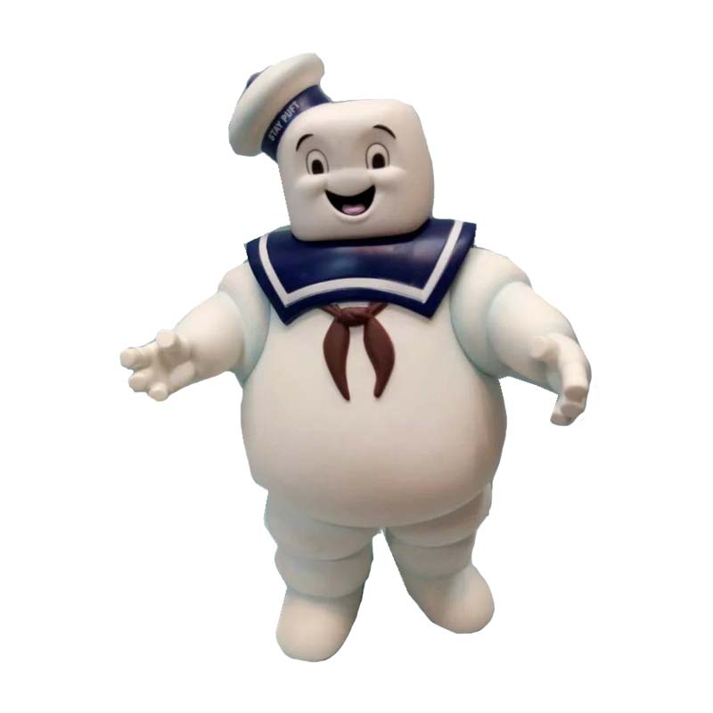 14cm Vintage Ghostbusters 3 Stay Puft Marshmallow Man Bank Sailor Action Figure Toy Doll