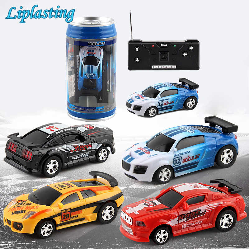 Creative Coke Kan Mini Auto Rc Cars Collection Radio Controlled Cars Machines Op De Afstandsbediening Speelgoed Voor Jongens Kinderen gift TSLM1