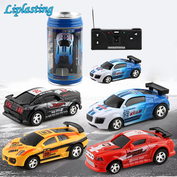 RC Cars Toy Creative Coke Can Mini Collection Radio Controlled Cars Machines On The Remote Control  For Boys Kids Christmas Gift rc cars chicco 4222 remote control toys toy radio controlled machine auto machines kids baby