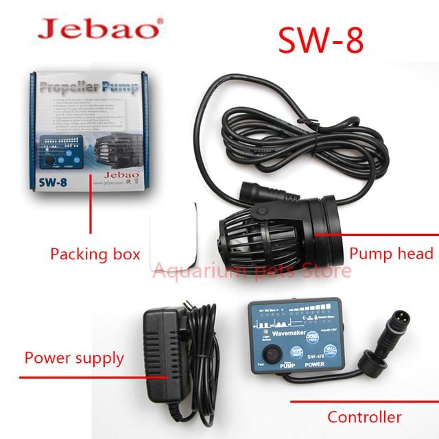 Jebao Water Pump SW-2 SW-4 SW-8 SW-15 Wavemaker Adjustable Flow Aquarium Jebao Wave Maker Fish Tank Aquatic Pet Supplies Home 5