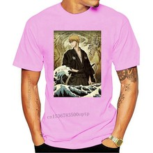 T-shirt bleach ichigo kurosaki vagues hokusai japon manga Cartoon t shirt men Unisex New Fashion tshirt Loose Size top ajax 2020