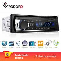 Podofo 1 din Auto radio Digital Bluetooth Audio Musik Stereo Mp3 Player USB/SD/AUX-IN Fernbedienung