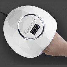 86 Вт Быстросохнущий светодиодный светильник для ногтей УФ-гель-Сушилка для ногтей инфракрасный светильник для маникюра