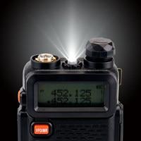 ווקי טוקי RETEVIS RT5R Handy מכשיר הקשר 5W VHF UHF VOX FM Ham חובב רדיו תחנת שני הדרך רדיו משדר ווקי טוקי לציד (5)