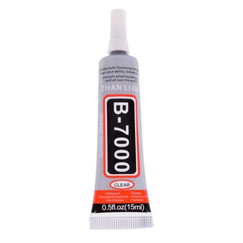 15/25/50/110ml B7000 Adhesive Glue Strong  Glue Liquid Gel Tube Universal Soft Glue For DIY Jewelry Nail Plastic Repair Supplies