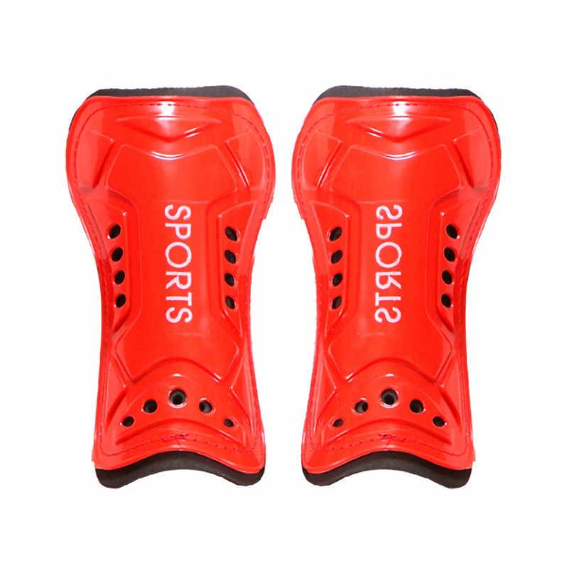 Accesorio de f/útbol 1 par de piernas Suaves para ni/ños Alomejor Protector de espinilla de f/útbol