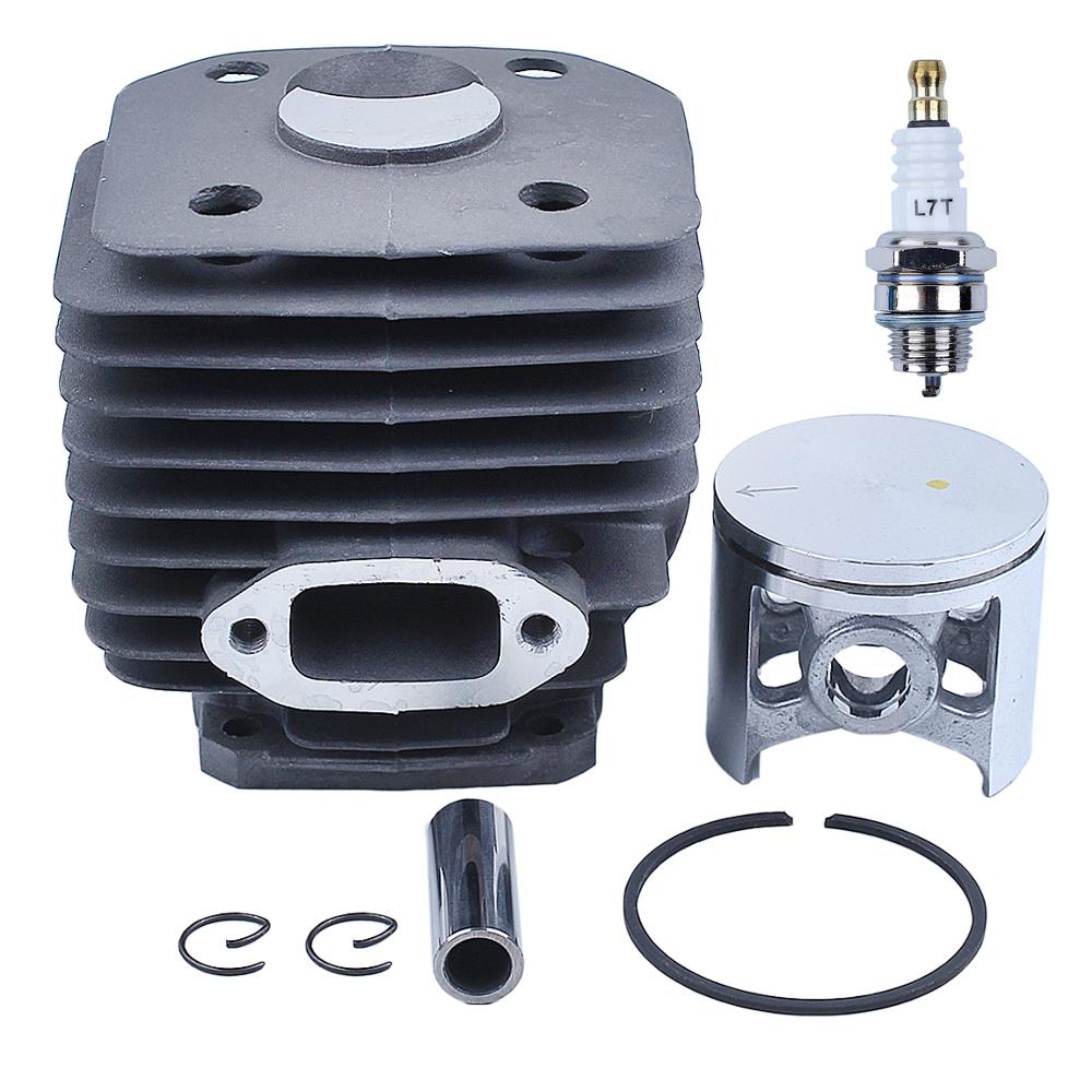 Husqvarna Spark Kit Parts Piston Chainsaw 503541171 Cylinder Spare 48mm For W Gas 261 Plug 262 262xp